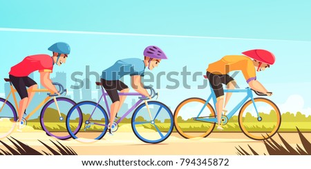 country road bicycle racing