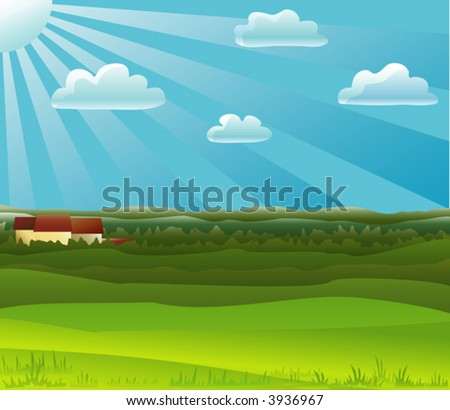 Countryside landscape (other landscapes are in my gallery)