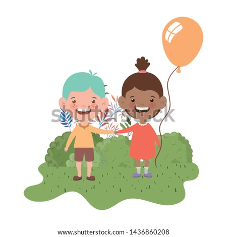 couple baby smiling with helium balloon in hand