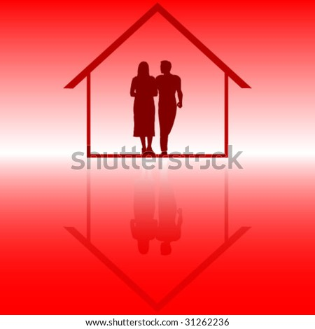 couple inside of house