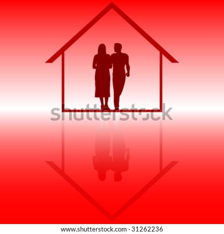 couple inside of house