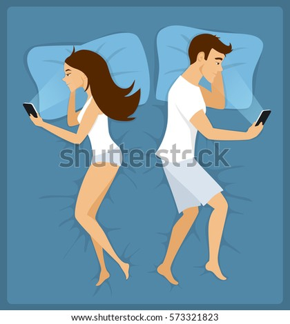 couple  man and woman lying