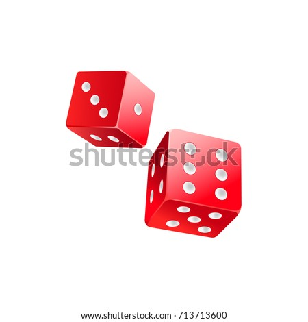 couple of falling red casino