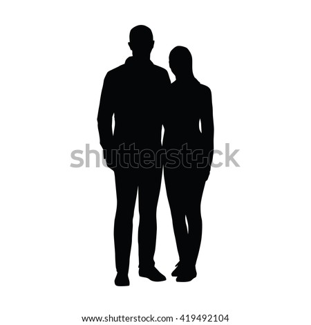 couple of young people standing