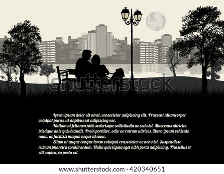 couple sitting on a bench in