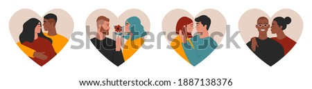 couples in love collection