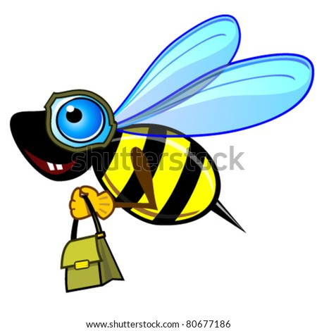 Courier bee or wasp