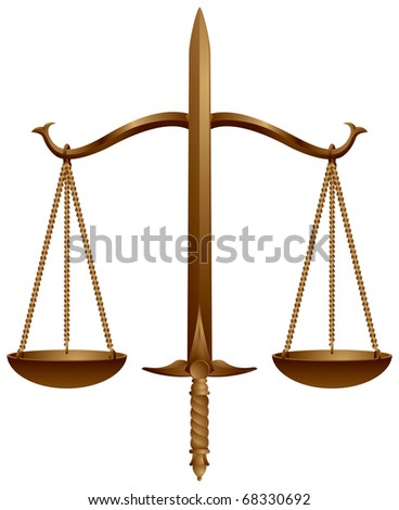 Scales of Justice Symbol