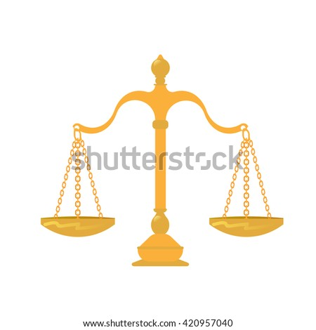 court libra gold icon