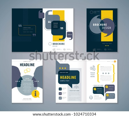 cover book design set  speech