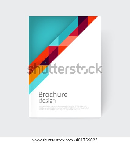 cover design brochure  flyer