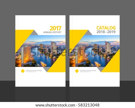 cover design for annual report