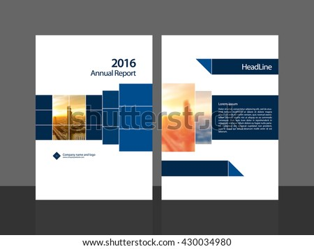 Cover design for annual report brochure flyer template. A4 cover vector EPS-10 background image with Gradient Mesh.