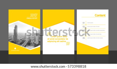 Promotional brochure poster template download free vector art cover design for annual report or business catalog magazine flyer booklet and content cheaphphosting Images