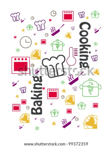 cover design of cooking book