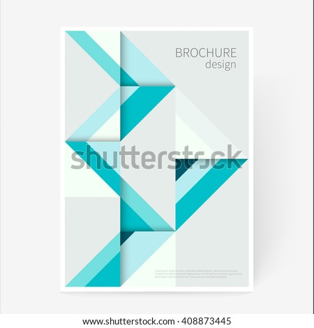 cover design template brochure