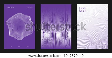 cover design templates set with