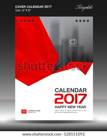 cover desk calendar 2017 year