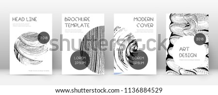 Cover page design template. Trendy brochure layout. Classy trendy abstract cover page. Soap invert grunge texture background. Amazing poster.