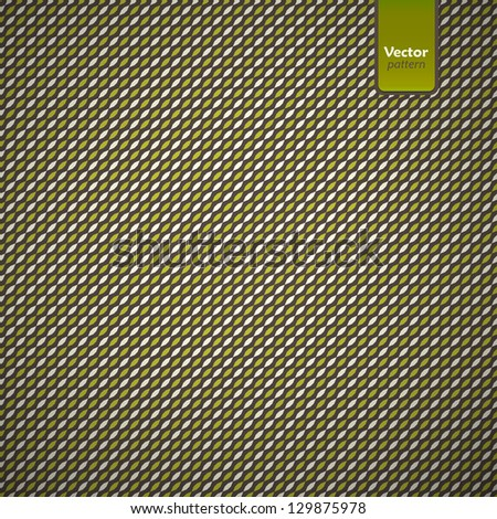 Cover template with retro seamless pattern.