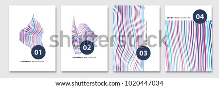 cover templates set  vector