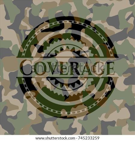 coverage camouflage emblem