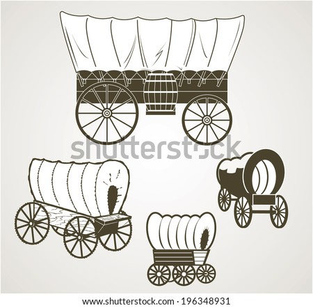 Lds Covered Wagon Clipart | Free Images at Clker.com - vector clip art  online, royalty free & public domain