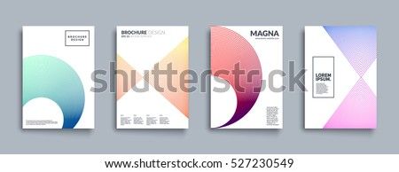 covers with geometric line