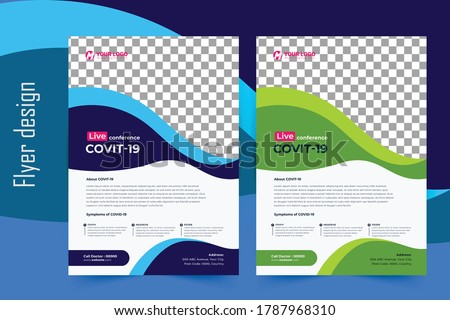 covid 19 flyer template  flyer