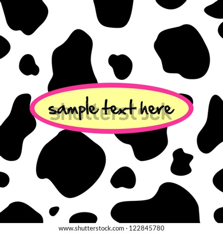 Cow Spot Background Cow Background
