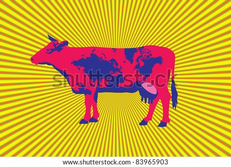 Cow Background