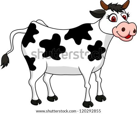happy cartoon cow download free vector art stock graphics images rh vecteezy com Cartoon Cat cartoon cows pictures