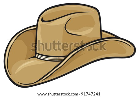 Cowboy Hat Border Cowboy Hat