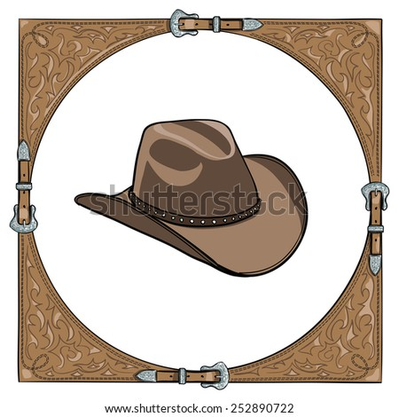 cowboy hat in the western
