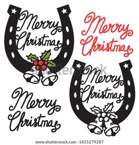 cowboy merry christmas symbol