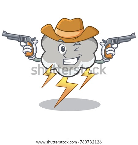cowboy thunder cloud character