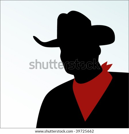 cowboy with handkerchief around