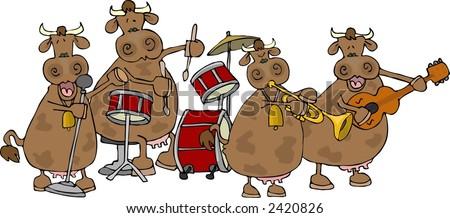 Cowgirl band