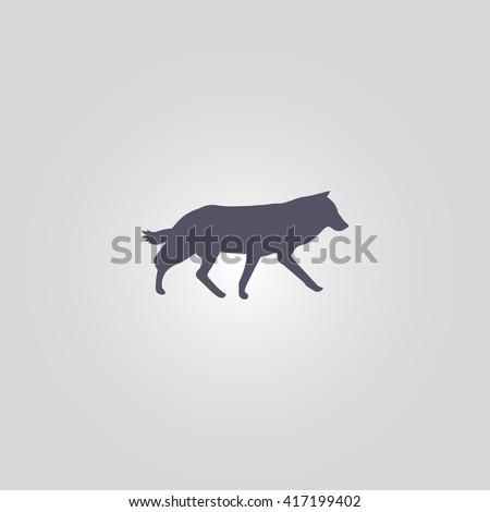 coyote icon coyote icon vector