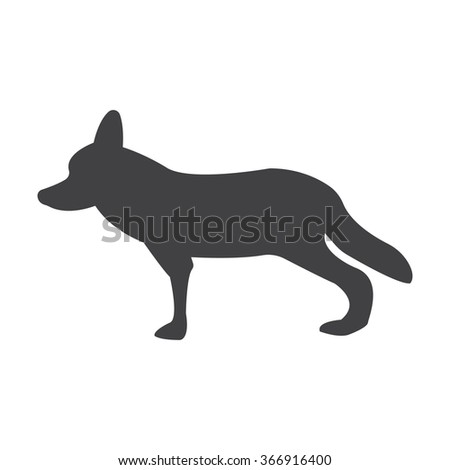coyote icon coyote icon vector