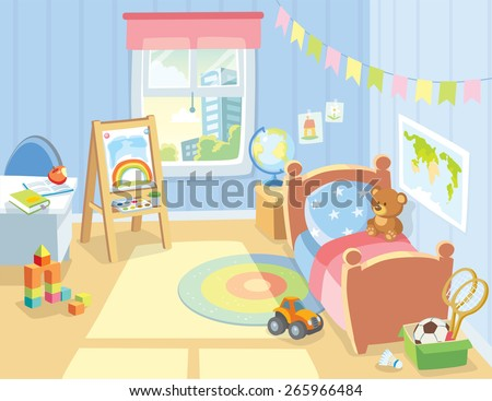 cozy children's bedroom