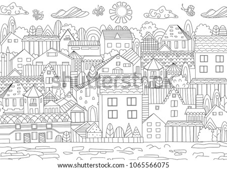 cozy cityscape for your
