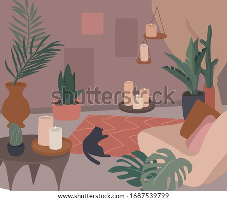 cozy home interior with