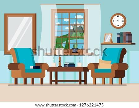 cozy home living room interior