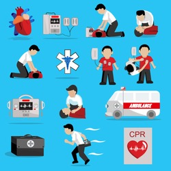 CPR ( Cardiopulmonary resuscitation ) , Basic life support ( BLS )and Advanced cardiac life support ( ACLS )