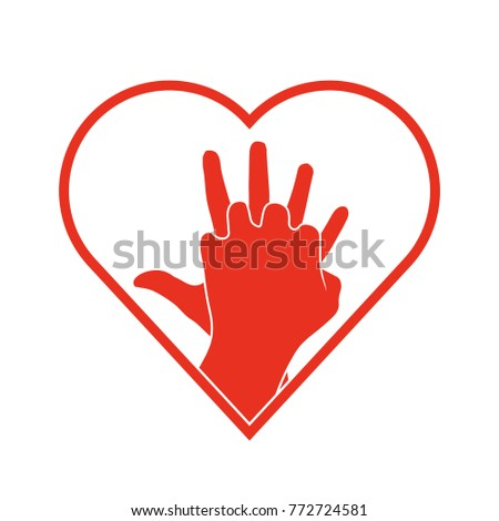cpr icon vector illustration