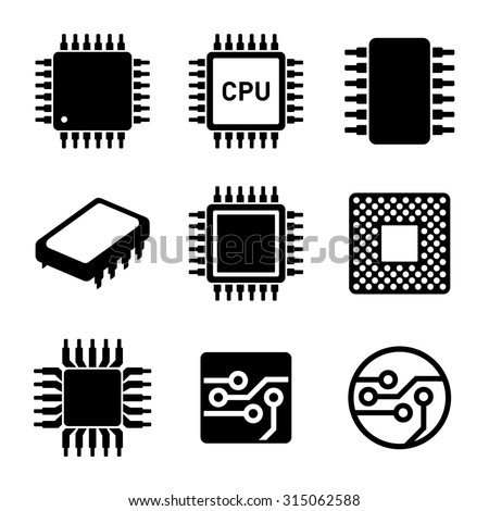 cpu microprocessor and chips