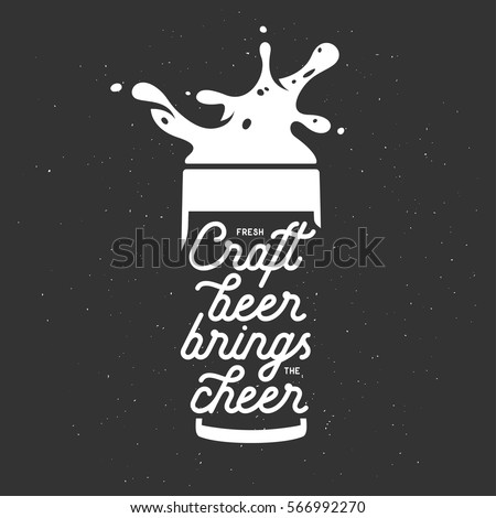 craft beer brings the cheer...