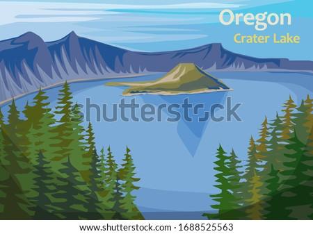 crater lake  crater lake in