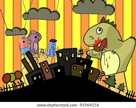 crazy puppet theater